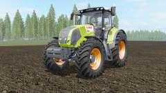 Claas Axion 810-850 acid green para Farming Simulator 2017