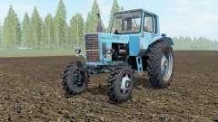 MTZ-80, Bielorrússia soft-cor azul para Farming Simulator 2017