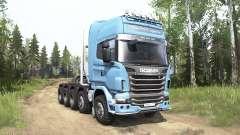 Scania R730 Topline 10x10 para MudRunner