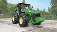 João Deeᶉe 8245R-8345R para Farming Simulator 2017