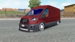 Ford Transit Jumbo Van para Euro Truck Simulator 2