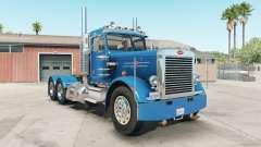 Peterbilt 359 rich electric blue para American Truck Simulator