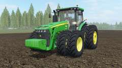 John Deere 8245R-8345R USA para Farming Simulator 2017