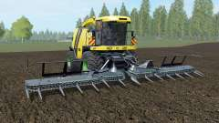 Krone BiG X 1100 banana yellow para Farming Simulator 2017