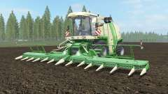 Krone BiG X 1100 pantone green para Farming Simulator 2017