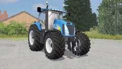 New Holland T8020 process cyan para Farming Simulator 2015