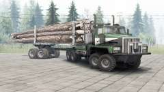 Western Star 6900TS v1.2 spring leaves para Spin Tires