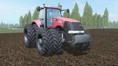Case IH Magnum 380 CVT carmine pink para Farming Simulator 2017