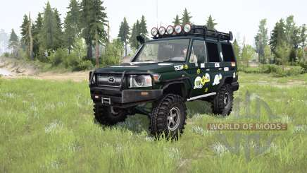 Toyota Land Cruiser 70 (J76) 2007 expedition para MudRunner