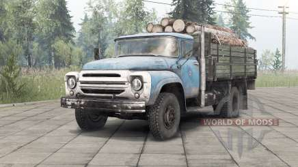 Zil-130 _ para Spin Tires