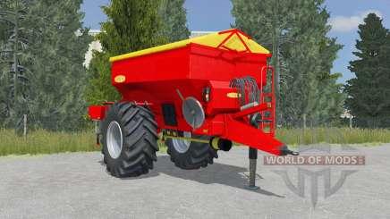 Bredal K105 vivid red para Farming Simulator 2015