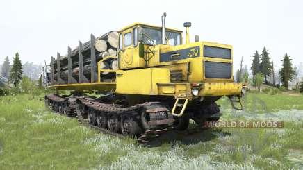 БТ361А-01 Tyumen cor amarela para MudRunner