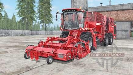 Holmer Terra Dos T4-40 coral red para Farming Simulator 2017