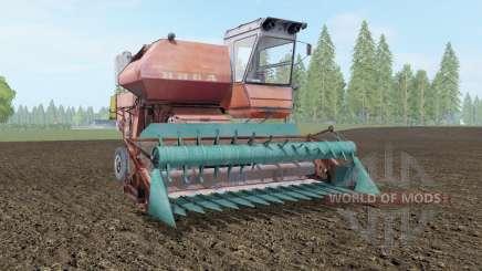 SK-5 Niva moderadamente cor vermelha para Farming Simulator 2017