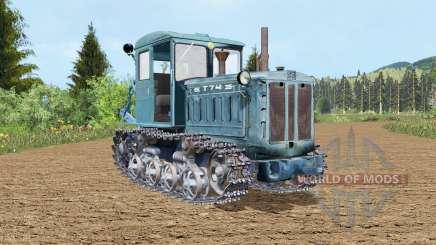 T-74 abre a porta para Farming Simulator 2015