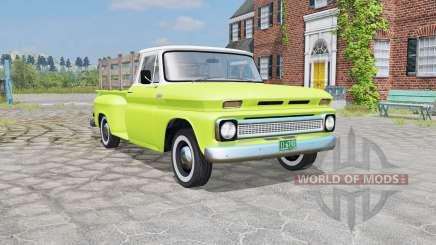 Chevrolet C10 Stepside (C14) 1966 para Farming Simulator 2015
