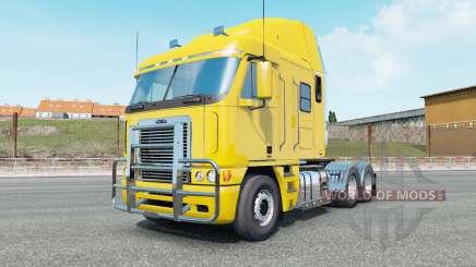 Freightliner Argosy banana yellow para Euro Truck Simulator 2
