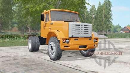 ZIL-541730 cor laranja brilhante para Farming Simulator 2017