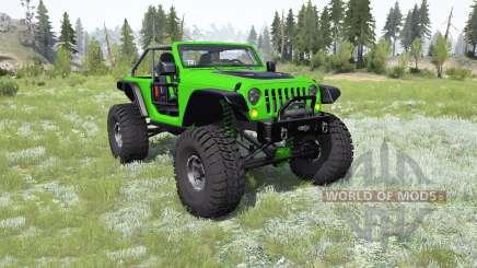 Jeep Wrangler (JK) Trailcat para MudRunner