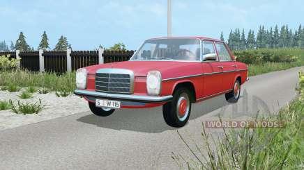 Mercedes-Benz 220D (W115) 1973 para Farming Simulator 2015