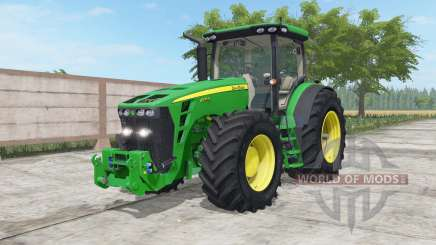 John Deere 8245R-8345R north texas green para Farming Simulator 2017