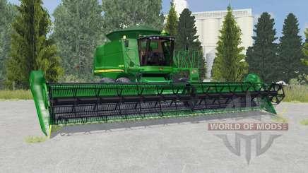John Deere 9770 STS la salle green para Farming Simulator 2015