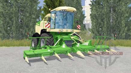 Krone BiG X 580 liᶆe verde para Farming Simulator 2015