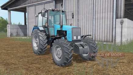 MTZ-1221 Bielorrússia azul Okas para Farming Simulator 2017