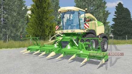 Krone BiG X 580 lime green para Farming Simulator 2015