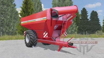 Horsch Titan 34 UW deep carmine pink para Farming Simulator 2015