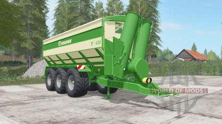 Krone TX 430 high capacity para Farming Simulator 2017