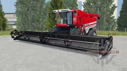 Massey Ferguson 9895 light brilliant red para Farming Simulator 2015