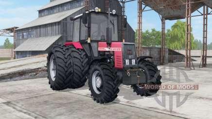 MTZ-952 Bielorrússia cor-de-rosa para Farming Simulator 2017