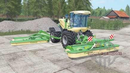 Krone BiG M 500 chateau green para Farming Simulator 2017