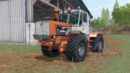 T-150K Sienna cor laranja para Farming Simulator 2017