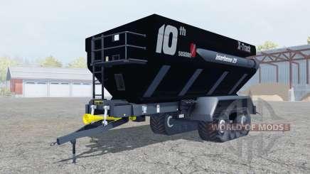 Perard Interbenne 25 X-Track rich black para Farming Simulator 2013