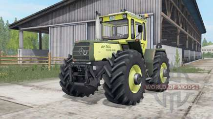 Mercedes-Benz Trac 1300-1500 full lights system para Farming Simulator 2017