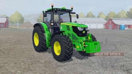 A John Deere 6150R froɳt carregador para Farming Simulator 2013