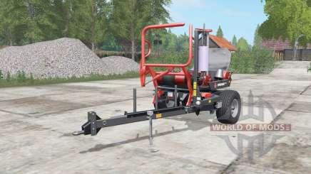 Ursus Z-586 tart orange para Farming Simulator 2017