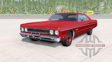 Plymouth Fury lll coupe 1969 v2.0 para BeamNG Drive