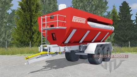 Perard Interbenne 25 light brilliant red para Farming Simulator 2015