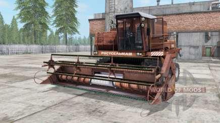 Não-1500A cor marrom para Farming Simulator 2017