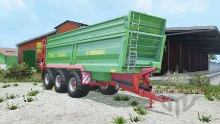 Strautmann PS 3401 fertilizer spreaders para Farming Simulator 2015