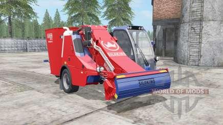 Siloking SelfLine Compact 1612 pigment red para Farming Simulator 2017