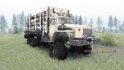 Ural-4320-1912-40 v1.3 para Spin Tires