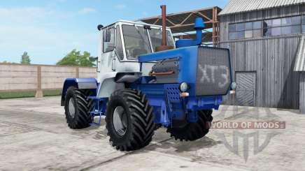T-150K cor azul para Farming Simulator 2017