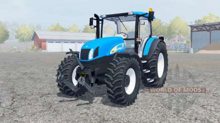 New Holland T6030 manual ignition para Farming Simulator 2013