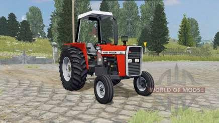 Massey Ferguson 265 ferrari red para Farming Simulator 2015