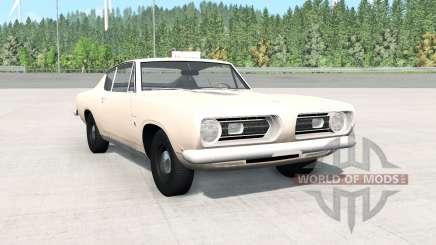 Plymouth Barracuda (BH29) 1968 para BeamNG Drive