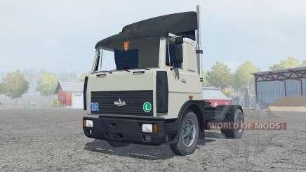 MAZ-5432-acinzentado cor verde para Farming Simulator 2013